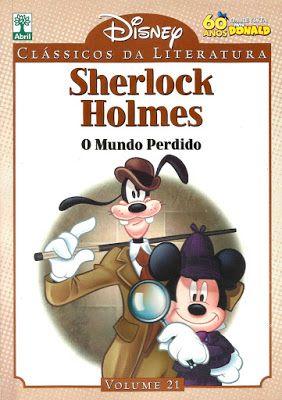 Clássicos da Literatura Disney - Sherlock Holmes | Revistas e Jornais