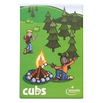 Cubs Fridge Magnet