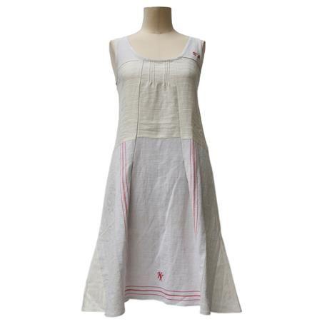 Kleid Arwen aus recycelten Küchentüchern