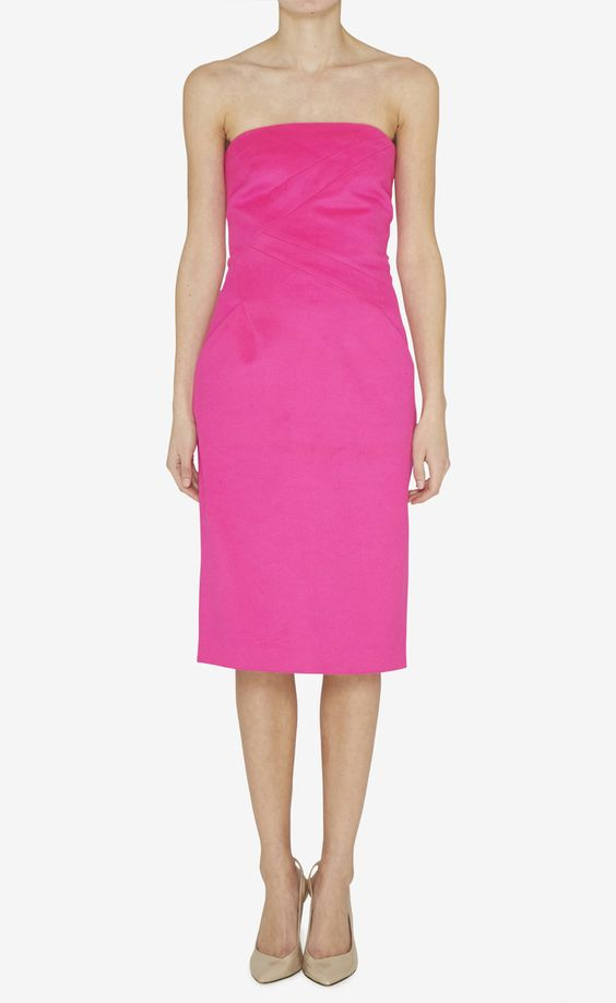Michael Kors Hot Pink Dress ($275)