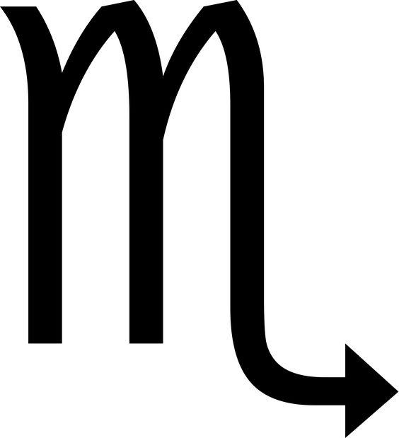 Símbolo de Escorpio