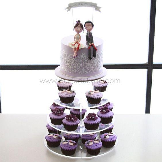 Engagement cupcake tower  #mutludukkan #sekerhamuru #butikpasta #sugarart #nisanpastasi #sozpastasi #cupcakekulesi