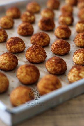 Palm Cheese Ball Cookies Catatan Nina Kue Kering Mentega Resep Biskuit Makanan Manis