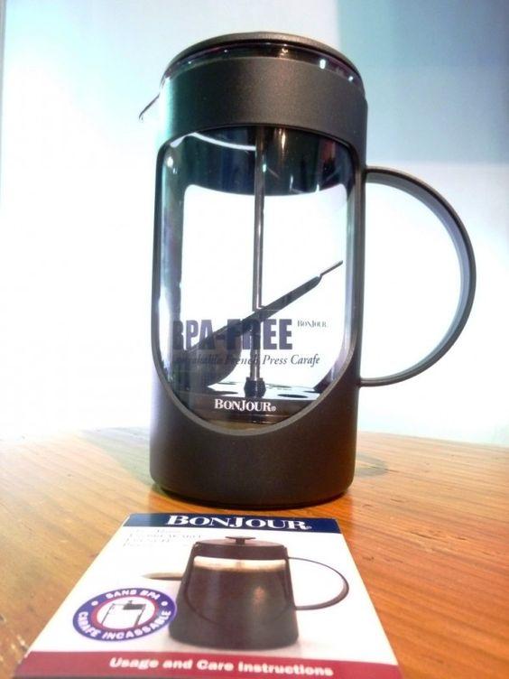 FRENCH PRESS 33ONZ NEGRA Obtendrás tu café con cuerpo y sabor intenso, irrompible.