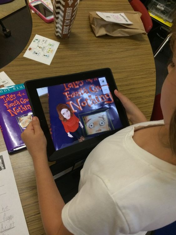 Technology and book reports