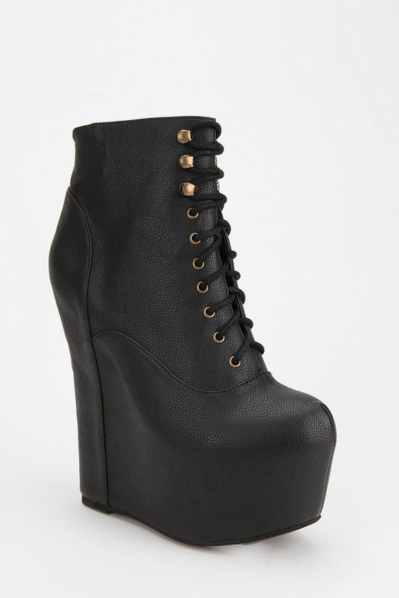 Jeffrey Campbell Smooth Damsel Platform Boot | Urban outfitters
