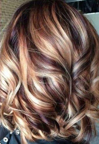 35 Hottest Fall Hair Colour Ideas For All Hair Types 2019 Fall Hair Colour A Hair Highlights And Lowlights Summer Hair Color For Brunettes Brunette Hair Color