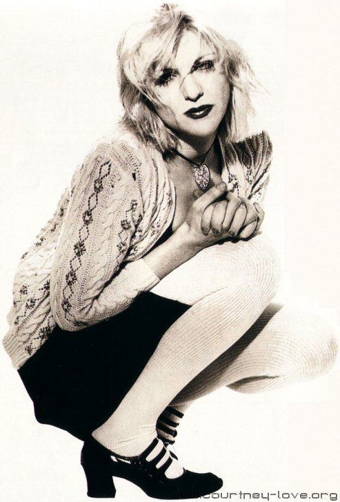 Courtney Love; a fine writer and female rocker...