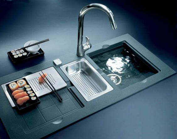 kitchen sink for franke design by f a porsche franke design kitchen ...