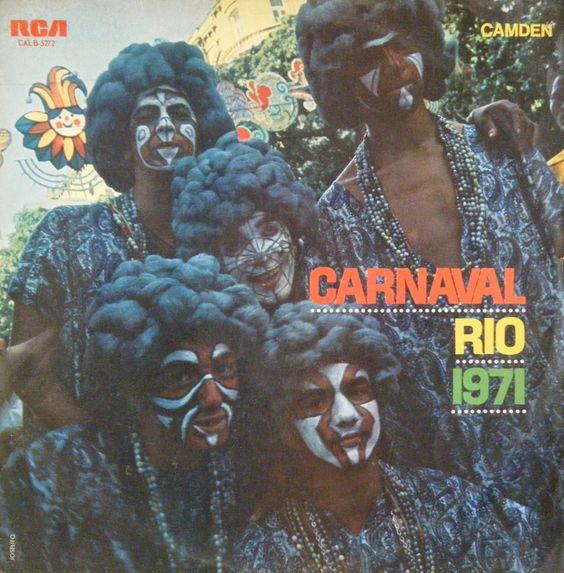 enfeites de carnaval de 1971