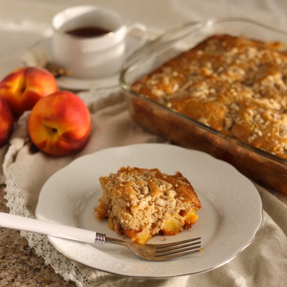 Peach All Day Cake, perfect for any occasion! | Because Food is Life