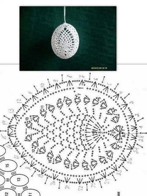 Easter Egg. Pineapple design