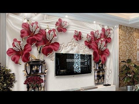 Top 45 Curtain Ideas Simple Curtain Design For Home Interiors 2018 Youtube Ceiling Design Modern Home Design Decor Wallpaper Living Room
