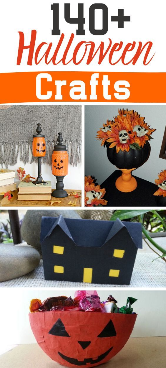 Halloween Craft Ideas 2020 140+ Free Halloween Craft Projects and Ideas in 2020   Halloween