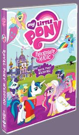 My Little Pony Friendship Is Magic brings you the wedding of the century when Princess Cadance and Shining Armor exchange vows. Relive the magic with Royal Pony Wedding, now on DVD. #MyLittlePony