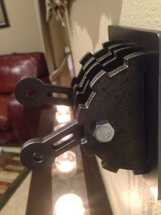 Steampunk Double Light Switch Cover W Levers Steel