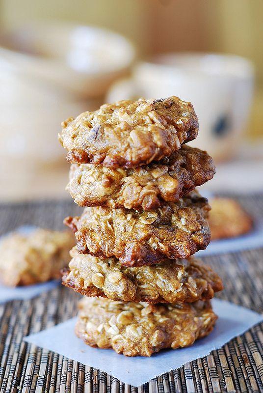 Banana oatmeal cookies, Oatmeal and Bananas on Pinterest