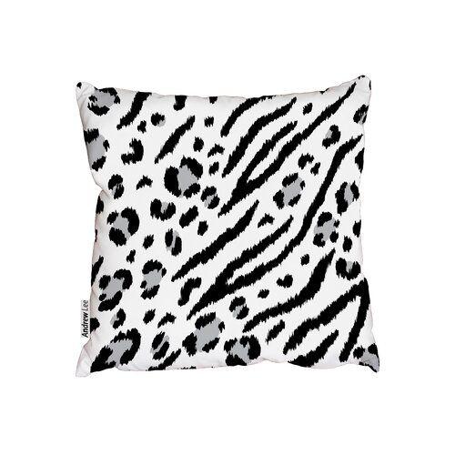 Dekokissen Leopardzebra Bloomsbury Market Größe 60 X 60 Cm