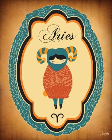 Constellation of Aries - Posters that Stick (adhesive wall art stickers) at Wheatpaste Art Collective