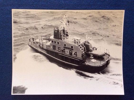 Genuine Photo 1975 Rnli Lifeboat Tony Vandervell At Weymouth