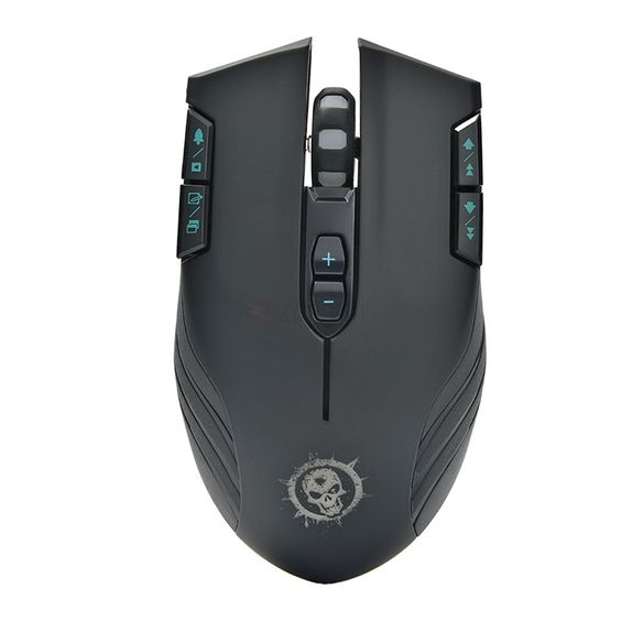 Wireless Optical Mouse for Hardcore Gamers. 2.4G Wireless Technology Lets you control your computer without the need for a corded hook up.  600/1000/1600/2400DPI Optical Technology Movement can be detected in near all services, and allows working on almost any surface without a mouse cushion.  Gaming & Video Control Modes Allows you to experience pinpoint accuracy and fire acceleration in gaming mode; One button to clear the screen in video mode helps you operate handily.