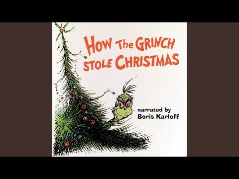 How The Grinch Stole Christmas Youtube Best Christmas Songs Favorite Christmas Songs Grinch Stole Christmas