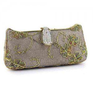 Nuevo bolsa de mano de moda con bordado para mujer