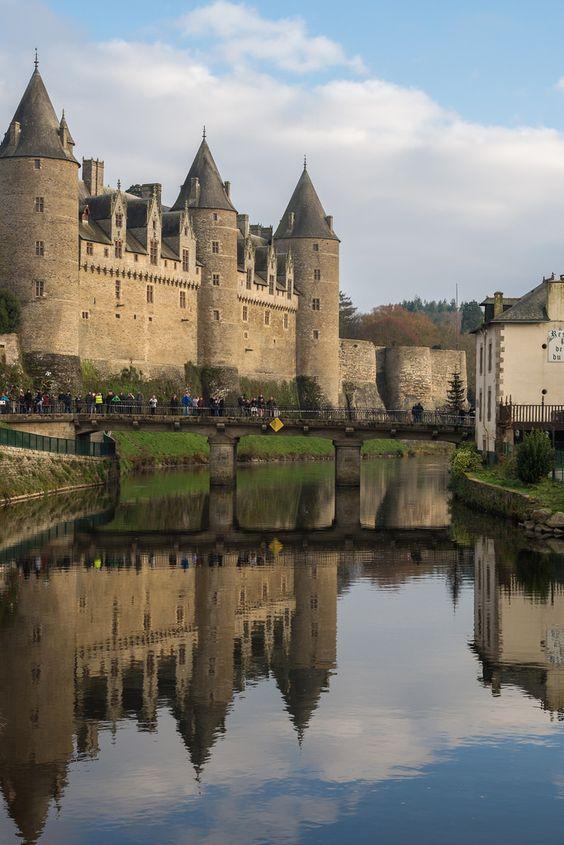 Josselin Castle, Brittany, France by Aymeric Gouin