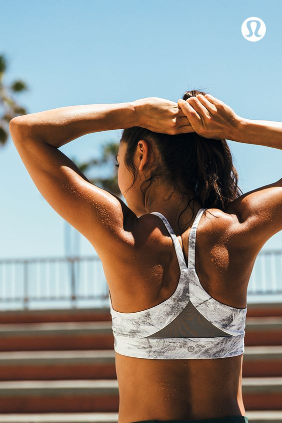 Get moving in tanks and bras that keep you cool and supported.