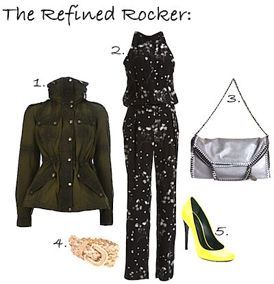 The Refined Rocker - From today's IWWSW on OliviaPalermo.com - which look is your favorite?