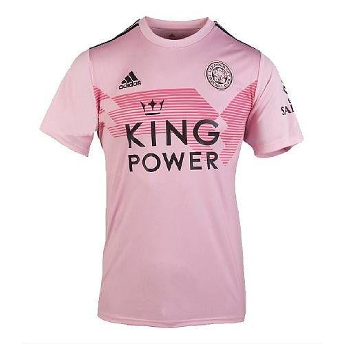 Adidas 2019 2020 Leicester City Away Football Shirt Pink Classic Football Shirts Soccer Jersey Jersey Shirt