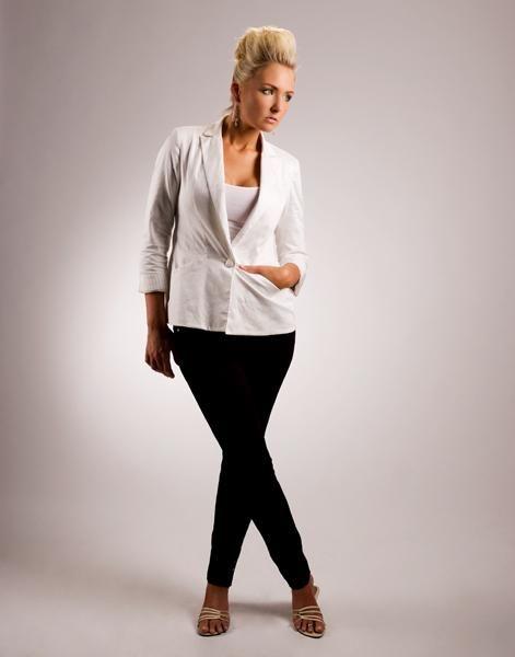 -High Fashion Model.