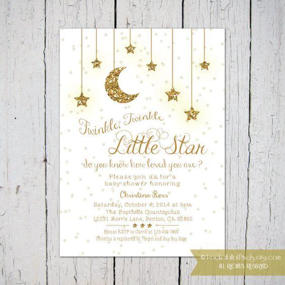 star baby showers twinkle twinkle little star and twinkle twinkle on