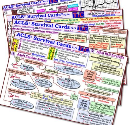 photograph about Printable Survival Cards identify acls pocket reference playing cards -