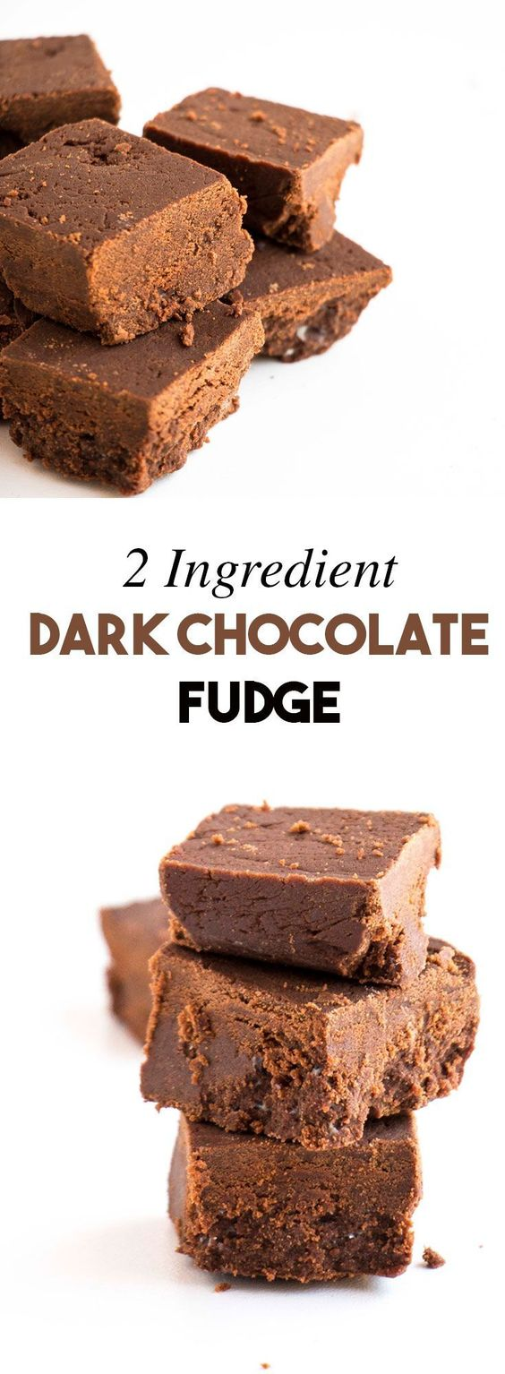 This fudge recipe is AMAZING. Not too sweet, and you can make it in 10min, it only uses 2 ingredients. Perfect as a DIY Christmas gift.