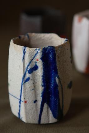 ceramics / winter's scarecrow: