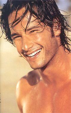 Rodrigo Santoro... My older man crush lol... I'll always remember him as the hot guy in Love Actually lol