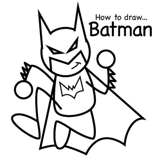 Gallery For gt Batman Drawing Kids