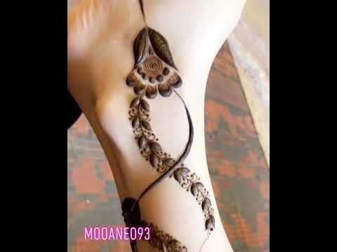 نقش حناء ارجل Youtube Latest Mehndi Designs Mehndi Designs Henna Designs