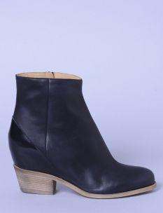 hiddenheel contrast ankle boot  #ss14 #shopbird15