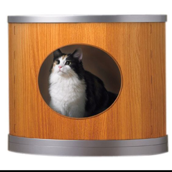 Litter box modern and boxes on pinterest - Modern kitty litter box ...