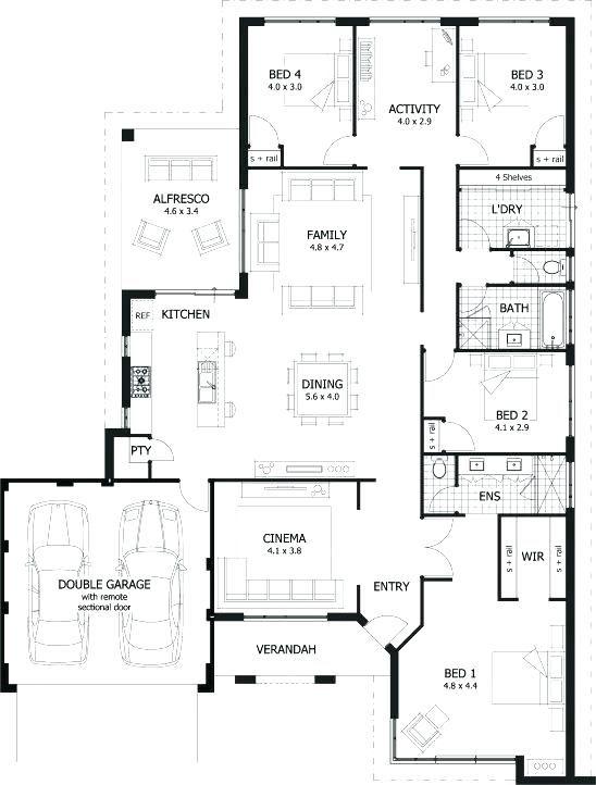 Dormer Bungalow Plans 4 Bedroom Dormer Bungalow Plans Four Bedroom