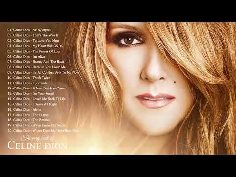 Celine Dion Greatest Hits Full Album Live 2018 Best Of Celine Dion Youtube In 2020 Celine Dion Greatest Hits Celine Dion Celine Dion Music