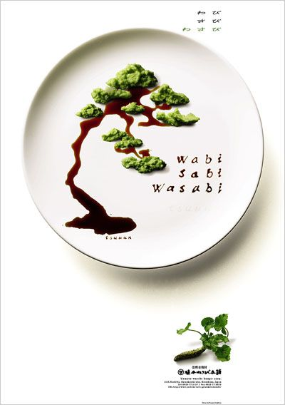 Wabi sabi wasabi by kazuto nakamura food art for Cuisine wabi sabi