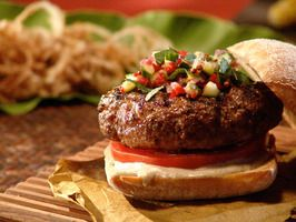 five spice burgers created by chef roger mooking - move aside beef burgers, these burgers are amazing!
