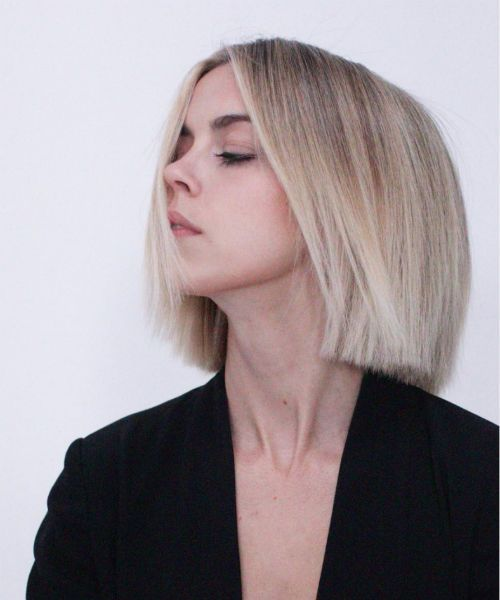 Splendid Chin Length Razor Sharp Edges Haircut Styles For Women Hair And Comb Bobs Haircuts Choppy Bob Hairstyles Short Hair Styles