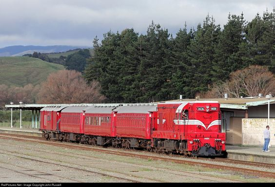 RailPictures.Net Photo: 1431 Steam Incorporated EMD G12 at Woodville, New Zealand by John Russell