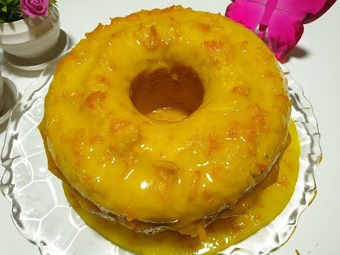 كيك البرتقال مع صوص البرتقال المميز بالمضرب اليدوي Youtube Desserts Orange Cake Food