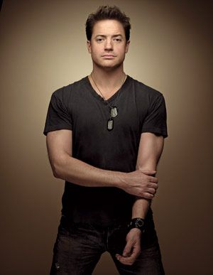 brendan fraser - I always thought he was super cute even tho he played george of the jungle:)
