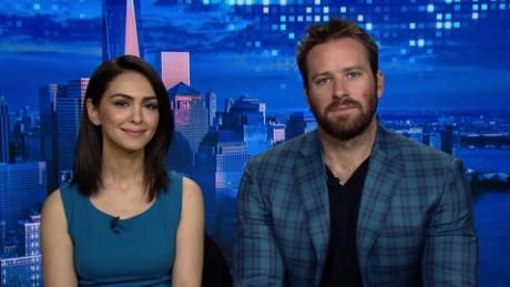 Actors Armie Hammer And Nazanin Boniadi Speak To Christiane